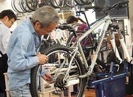 自転車メカニック夜間コース 夜間授業見学会