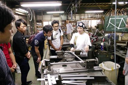 関西地区 自転車企業訪問