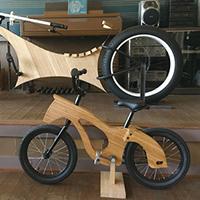 「竹の自転車」で地域活性化を提案!